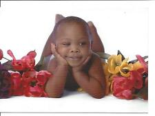 African American Baby Feet Toes 5 Notecards Blank Cards Envelopes Johnson 1999