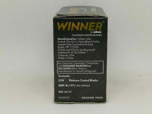 110 X Winner Razors Blades Double Edge Safety Razor Shavings Platinum Coated