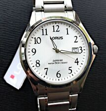 New Lorus Watch Watch Fashion New 41 mm Mens Stainless Steel