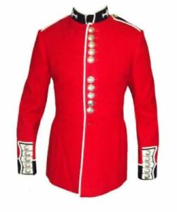WELSH Guards - RED CEREMONIAL Tunic - GRADE ONE - British Army/Military - UA