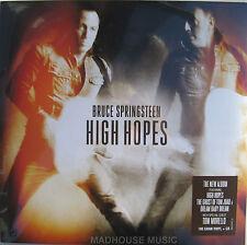 Bruce Springsteen LP x 2 + CD High Hopes 180 g Scellé Vinyle avec autocollant