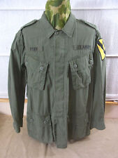 Size S US ARMY VIETNAM veste de champ 1st Cavalry Field Jacket Jungle m64 Olive Veste