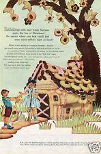 1959 Print Ad of California Raisin Advisory Board Raisinland Cookie House