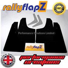 Rally Estilo mudflaps para adaptarse a Toyota Celica Gt-four st205 6 Gen Barro Negro Solapas