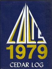 Cedar Cliff High School Yearbook 1979 Camp Hill, PA (Cedar Log)
