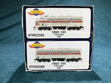 Athearn Genesis Chicago & Southern C&S  F7A/B Freight Set Discontinued New