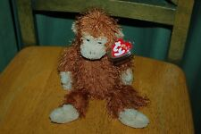 """Ty Punkies Collection - ZIG-ZAG the Monkey 10"""" Size - MWMT -  Fast Shipping"""