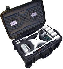 Case Club Waterproof DJI Phantom 4 Drone Wheeled Case