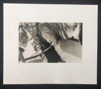 Silke Grossmann, Motiv VII, 1977, Photographie, 1981, handsigniert und datiert