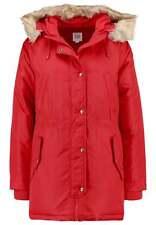 Gap Hooded Down Parka Coat Jacket, Red Sunset SIZE MT M T    #460710 v1031