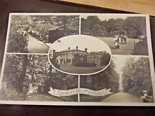 BURNLEY, TOWNELEY HALL AND GROUNDS,  BOWLING GRN,  SHELTER,  R/PHOTO/PC, PM 1912