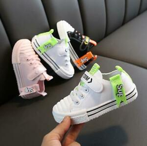 Kids Boys Girls Casual Shoes Sneaker Children Trainers Sports Running Gym Shoes