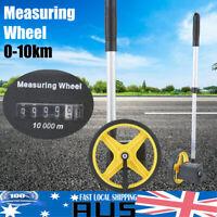 Pro 10KM Measure Distance Wheel Measure Tape Meter Trundle Walking Surveyor Tool