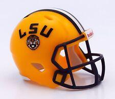 LSU TIGERS NCAA Riddell SPEED POCKET PRO Mini Football Helmet
