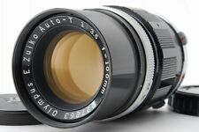 【Near Mint】 Olympus E.Zuiko Auto T 100mm f/3.5 Lens for PEN F FT from Japan #169