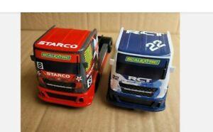 2 x Scalextric Racing Trucks. C3610 RCT Racing, C3609 Starco Racing. Excellent