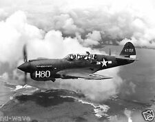 P-40 Warhawk WW2 Fighter Aircraft & one of the highest Produced Aircraft- 11x14