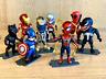 LOT OF 8 | Hasbro Marvel Avengers Action Figures Super hero Figures
