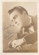 RAY EBERLY - SIGNED 5 X 7 PHOTO - 1940's - BIG BAND - GLENN MILLER - AUTOGRAPH
