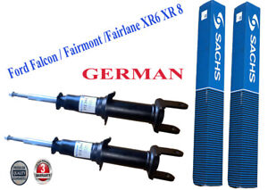 2 Front Gas Ford Falcon BA Shock Absorbers Sedan Wagon Ute 2003-2006 SACHS GERMA