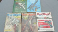 Gun Digest 5 Softcover Annual Editions For 1980, 1982, 1983, 1984, And 1985