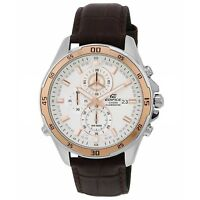 Casio Edifice EFR-547L-7AV Chronograph Silver Dial 10 ATM Quartz Men's Watch