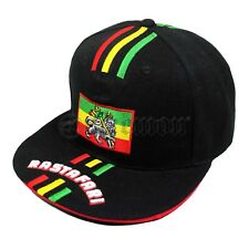 Rasta Roots Urban Flag Hat Ball Cap Reggae Cool Runnings Africa Marley 1sz Fit