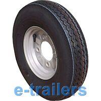 400x8 4ply tyre on 4 STUD 115mm PCD Trailer Wheel - Erde Daxara type 265kg rated
