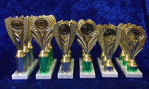 BARGAIN BOX Equestrian / Sport / Dancing Awards Trophies Set of 18 FREE Engravin