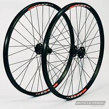 """26"""" DT Swiss E540 Black, Shimano XT M756 hubs,Mountain Bike Wheel Set. MTB"""