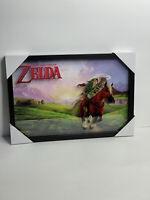 Nintendo Zelda Link N64: 14x20 - 3D ShadowBox Wall Decor Art Poster Frame