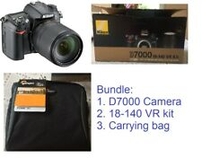 Brand New Nikon D7000 DSLR Camera with 18-140mm f/3.5-5.6G ED VR Kit bag Bundle