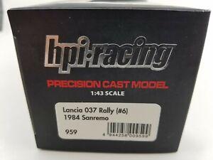 1/43 HPI 959 Lancia 037  1984 Sanremo (#6) BBR Make Up Minichamps