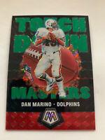 DAN MARINO 2020 Mosaic Touchdown Masters Green Prizm Insert Miami Dolphins HOF