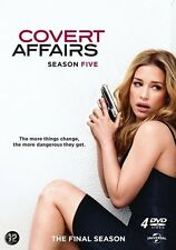 COVERT AFFAIRS - SEASON 5 -  DVD - New & sealed PAL Region 2