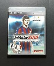 PES 2010 Pro Evolution Soccer *New / Sealed - Sony PlayStation 3 PS3 *Region 1