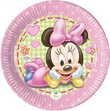 Minnie Mickey Bebe Decoration Gateau Disque Azyme Comestible Anniversaire