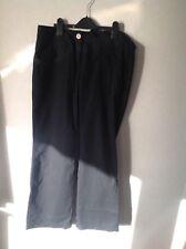 Ladies black linen trousers  size 12. Excellent condition. Office wear.