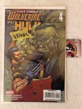 Ultimate Wolverine vs. Hulk #4 VF/NM Marvel Comics