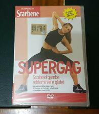 Salute DVD * SUPERGAG * scolpisci Gambe Addominali e Glutei ( 75 minuti ) Nuovo