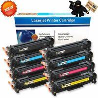 8PK CE410X/1A/2A/3A Toner Set For HP 305A Laserjet Pro 400 Color MFP M451 M475dw