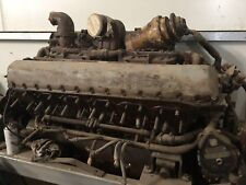 Rolls Royce Meteor V12 Rebuilt Engine Similar To Rolls Royce Merlin Engine
