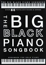 BIG BLACK PIANO SONGBOOK solo piano