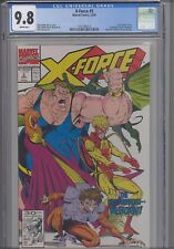 X-Force #5  CGC 9.8 1991 Marvel  Comic: Siryn Joins the Team: NEW Frame