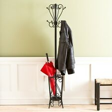 Southern Enterprises Scrolled Coat Rack and Umbrella Stand HP3192 Coat Rack NEW