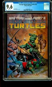 Teenage Mutant Ninja Turtles #33 CGC 9.6 NM+ White Pages Mirage Studio 1990 TMNT