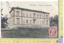 Cartolina  Manage - Chateau Thyberghien - Vg Belge Congo - 1908