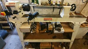 Axminster APTC M950 Woodturning lathe with multiple accessories