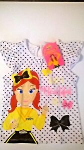 Wiggles / Emma / T - Shirt / Girls / Size 4 Only.