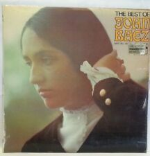 JOAN BAEZ - vintage vinyl LP - The Best of Joan Baez